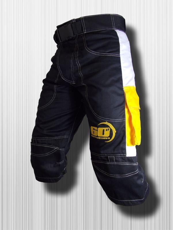 Shorts  Nero - Giallo
