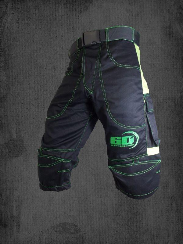 Shorts  Nero  - Verde