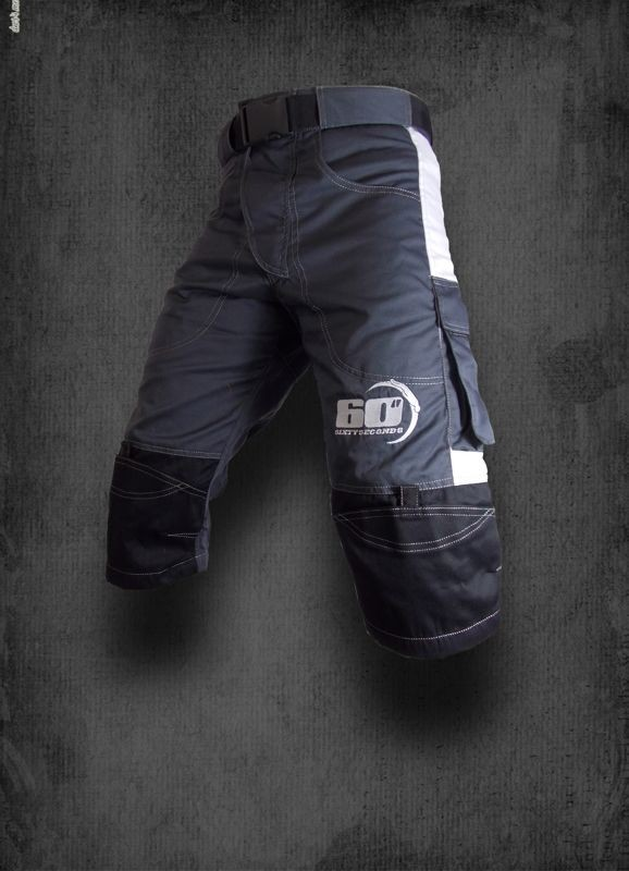 Shorts  Grigio  - Bianco
